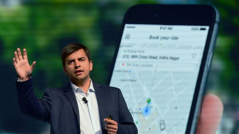 Bhavish Aggarwal started Ola in 2011 when he was 25 years old