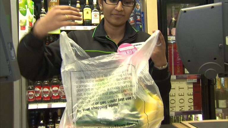 Campaigners said supermarkets should get rid of plastic bags altogether