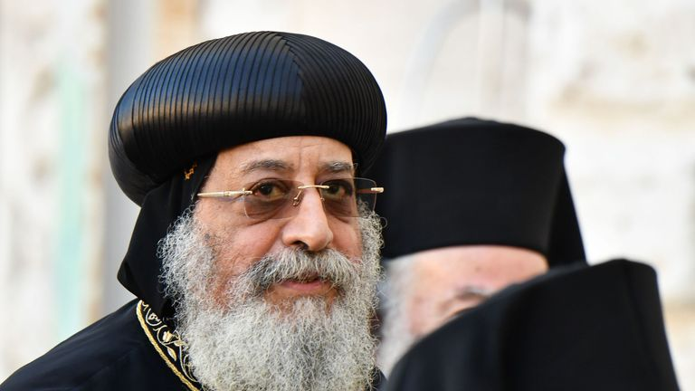 Pope Tawadros has quit Facebook, citing it is a 'waste of time'