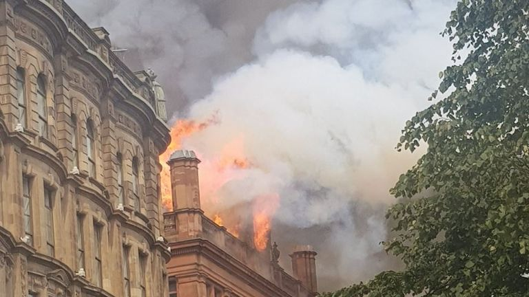 Primark confirmed that the store was evacuated. Pic: Emmet McEvoy