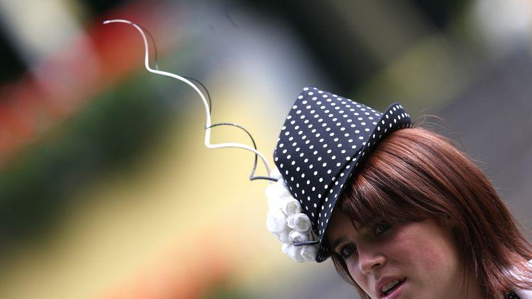 Eugenie loves a bold fashion statement