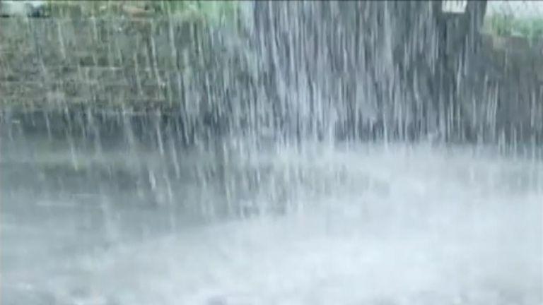 Heavy rain batters Wisconsin