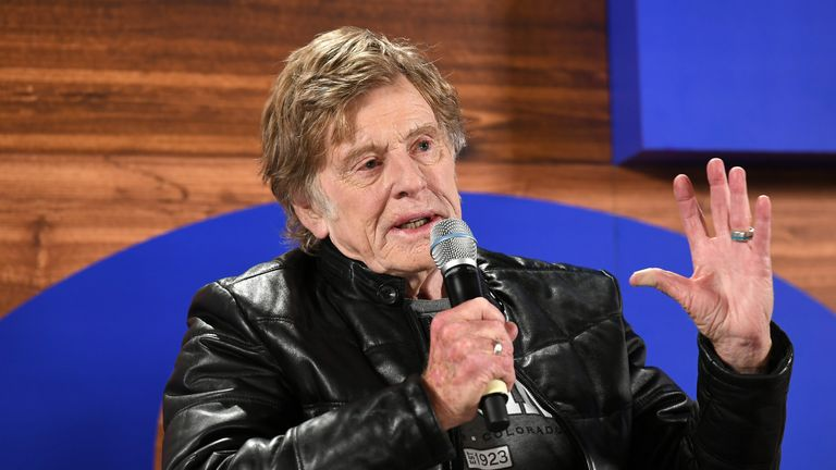 Robert Redford says his next movie will be his last as an actor