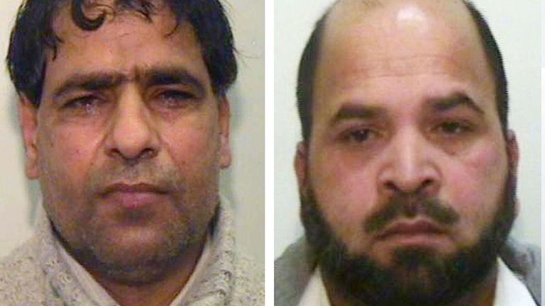Adil Khan appealed against deportation with Abdul Aziz, left, and Qari Abdul Rauf, right