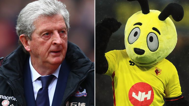 Roy Hodgson has issued Harry the Hornet a warning ahead of his next game