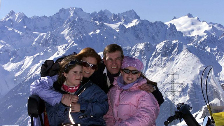 A York family Swiss ski trip