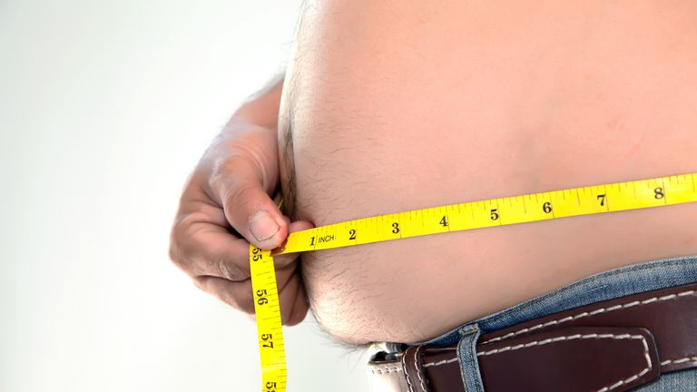 Being overweight was the tenth highest reason men believed they were single