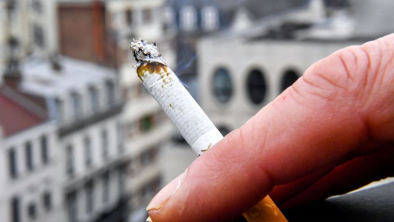 The pesticides are chemically similar to the nicotine found in cigarettes