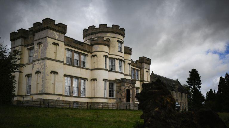 Smyllum Park Orphanage in Lanark, Scotland