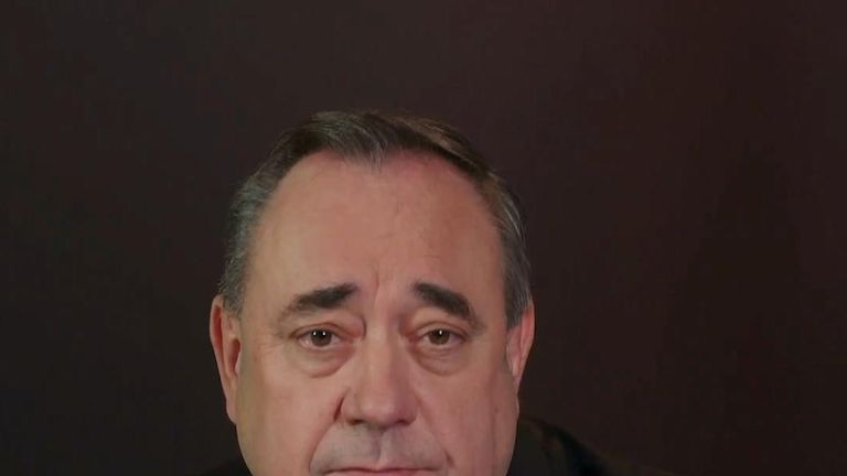 Former SNP leader Alex Salmond has resigned from the party amid sexual misconduct claims, which he denies.