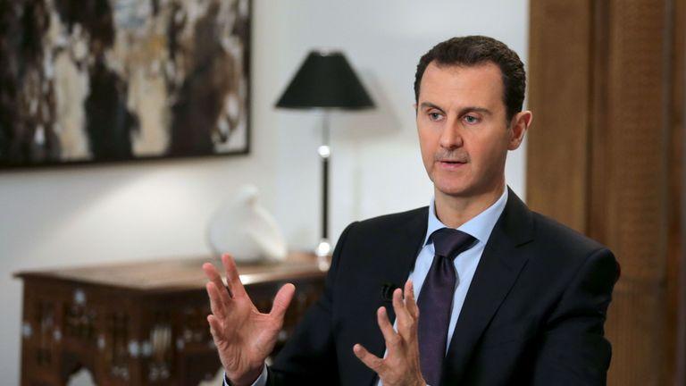 Syria President Bashar al-Assad.