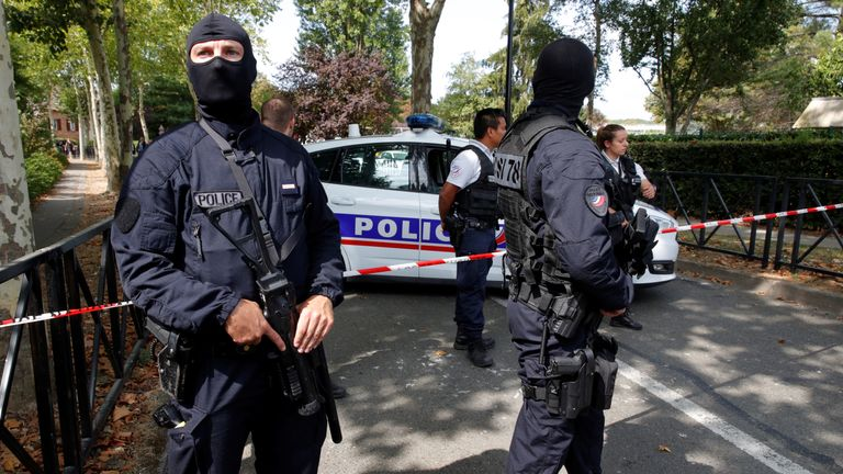 Police shot a man who killed his mother and sister in the Paris suburb of Trappes