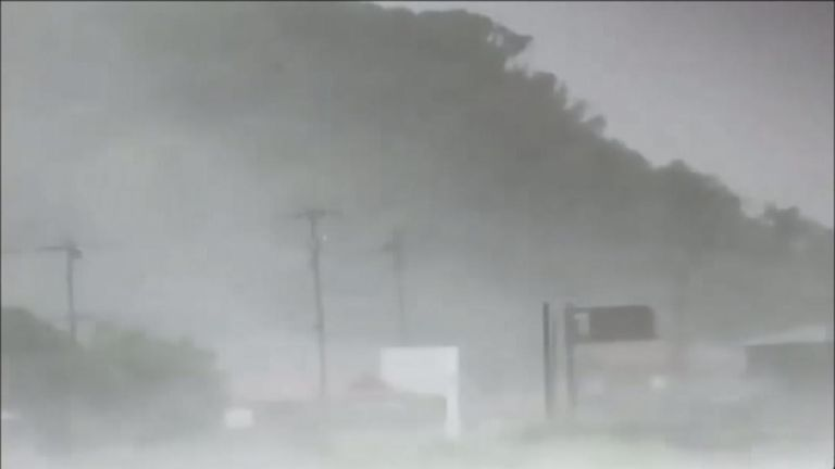 Typhoon Soulik approaches Japan's coastline