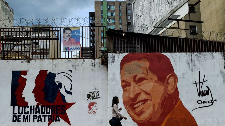 Venezuela's socialist leader Hugo Chavez spent lavishly on the back of an oil boom