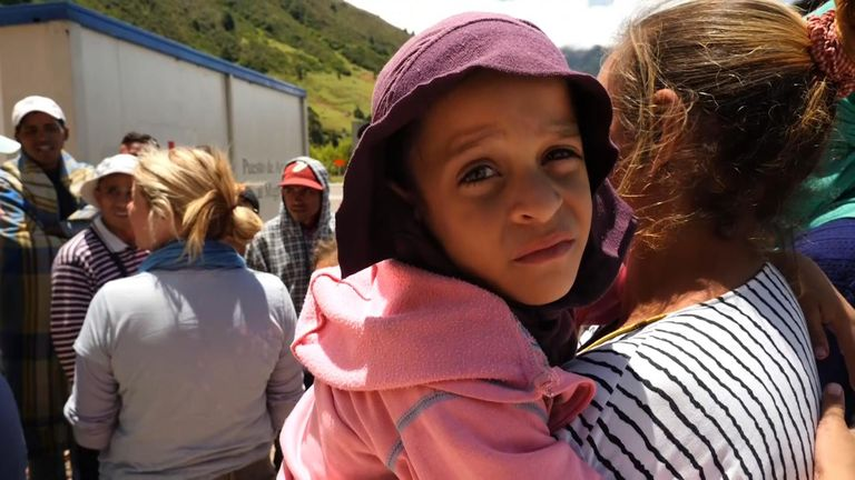 Tens of thousands are making the 2,000km trek from Venezuela, through Colombia, to Peru and Ecuador.