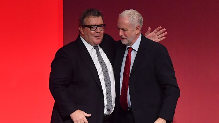 Tom Watson challenged Jeremy Corbyn to clamp down on anti-Semitism