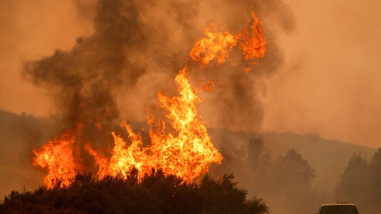 The Mendocino Complex Fire has now beome the largest in Californian history