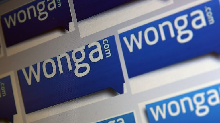 LONDON, ENGLAND - SEPTEMBER 03: In this photo illustration, a series of 'Wonga' logos are shown on a computer screen on September 3, 2013 in London, England. The payday Loan company 'Wonga' have announced weekly profits of more than £1M GBP. (Photo by Dan Kitwood/Getty Images)
