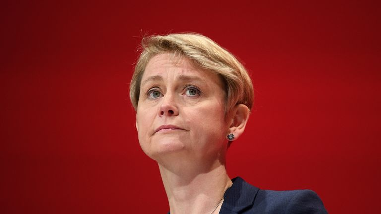 Yvette Cooper has called for an urgent update on a decision to release Stephen Mitchell on parole
