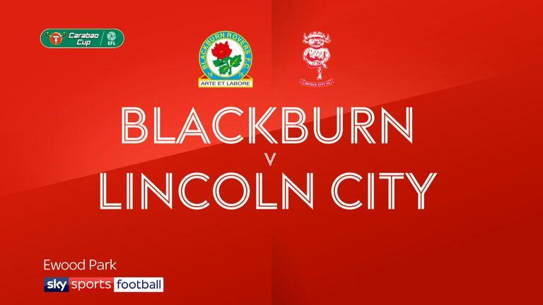 Blackburn 4-1 Lincoln