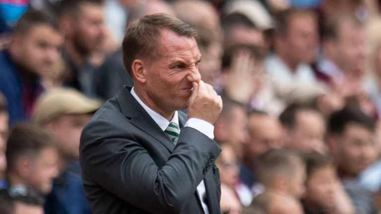 Brendan Rodgers slams Celtic defending in AEK Athens loss