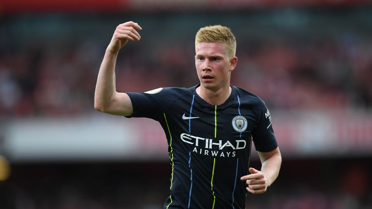 Pep: De Bruyne 'a big miss' for City