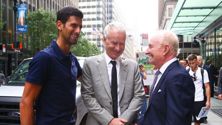 John McEnroe is looking forward to captaining Team World