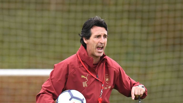 Arsenal's Unai Emery calls for 'calm' after Gunners suffer second defeat