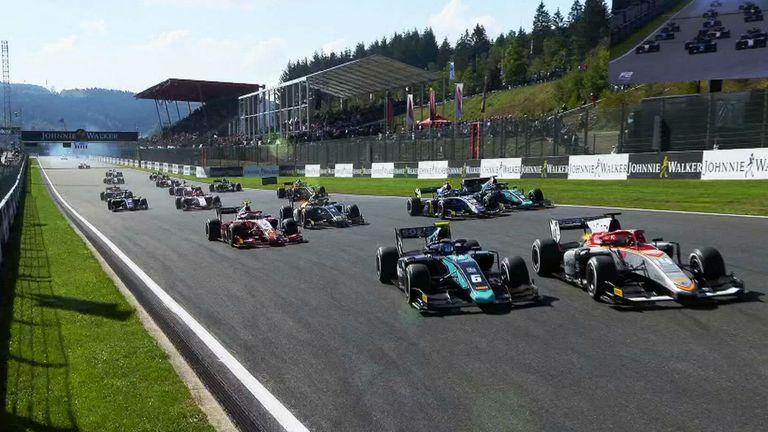 Nicholas Latifi wins F2 Sprint Race at the Belgian GP | Motorsport News |