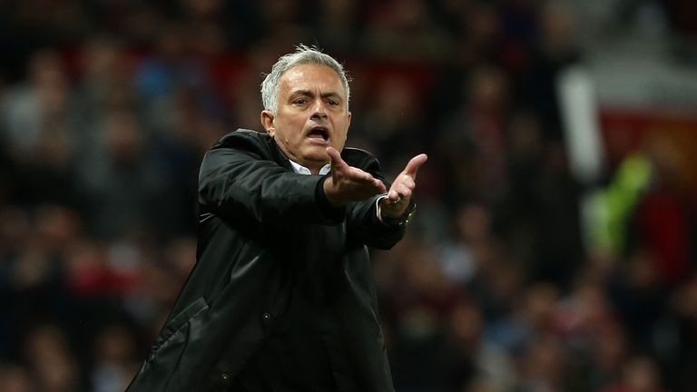 Mourinho gifts Man United fan his jacket after United's win over Burnley