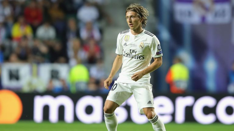 Luka Modric wins Federation Internationale de Football Association  award for best men's player