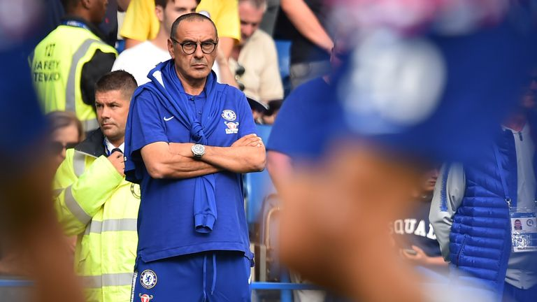 Sarri surprised by defensive Toon