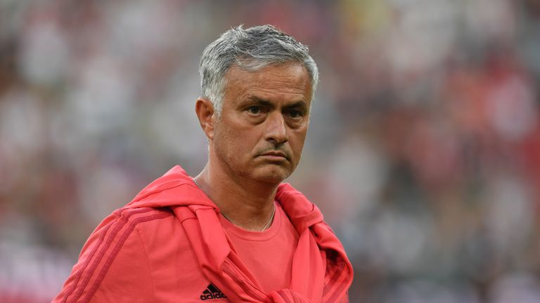 Jose Mourinho: 'Manchester United left in a hard position'