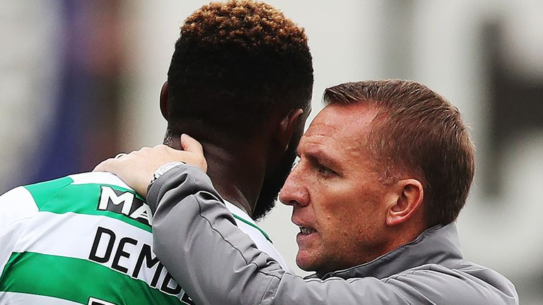 Glasgow Celtic manager Brendan Rodgers confirms Moussa Dembele interest