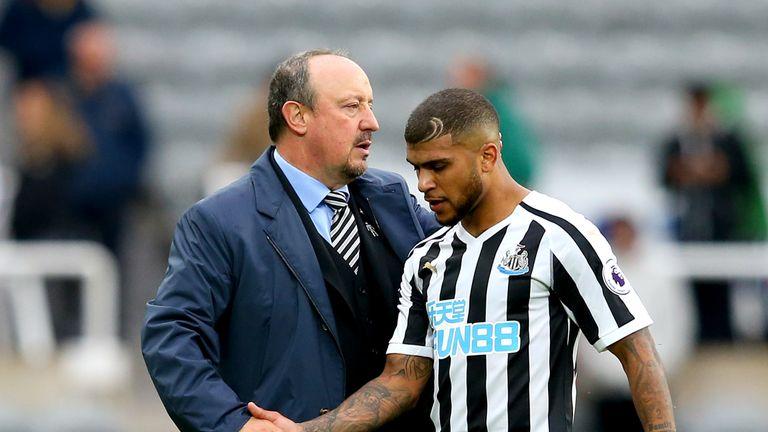 Rafa Benitez responds to protests against Mike Ashley at Newcastle
