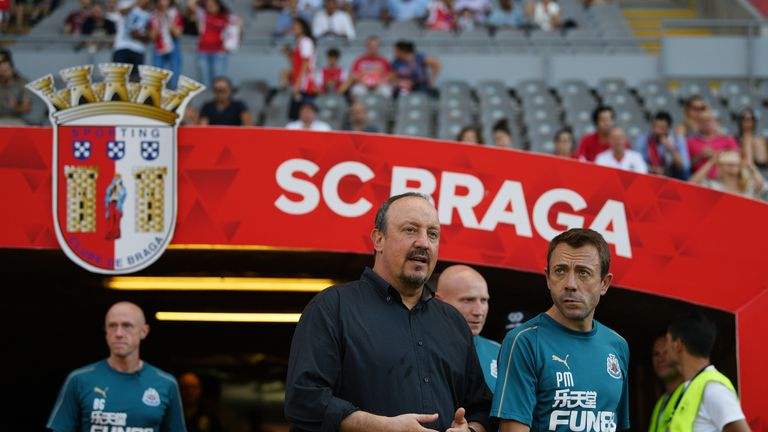 Rafa Benítez's angry message to Newcastle United owner