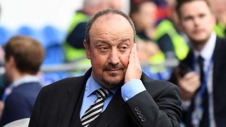 0:37                                               Rafael Benitez is demanding a quick response from his team to the mistakes they made at Cardiff