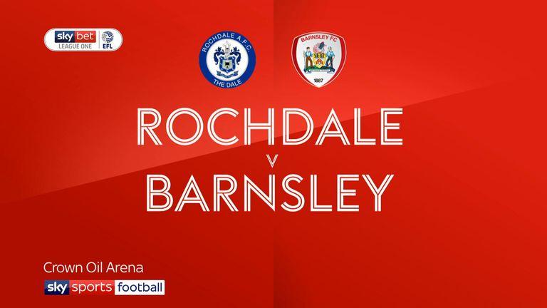 Rochdale 0-4 Barnsley - highlights