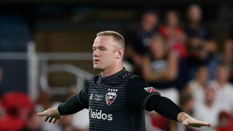 DC United 2-1 Chicago Fire  Wayne Rooney double boosts hosts  play-off hopes 7c64ead47