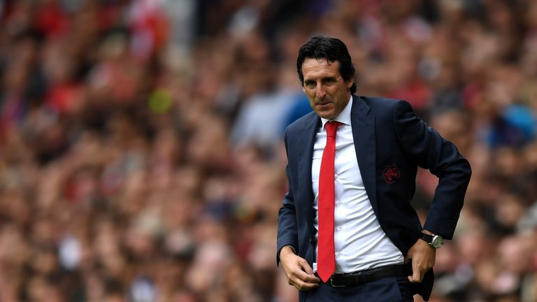 Unai Emery opens up on Arsenal tactics
