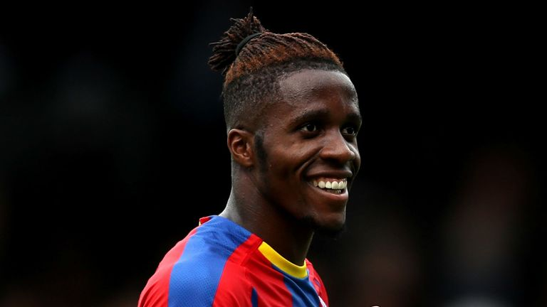 0:52                                               Wilfried Zaha says he had no doubt in his decision to stay at Crystal Palace