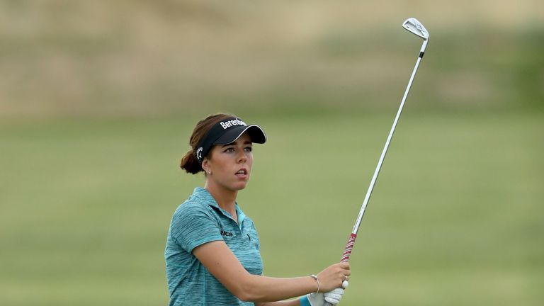 Hall wins Women's British Open for 1st major title