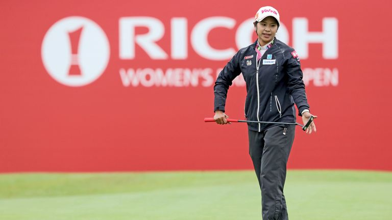 Phatlum retains one-stroke lead at Women's British Open