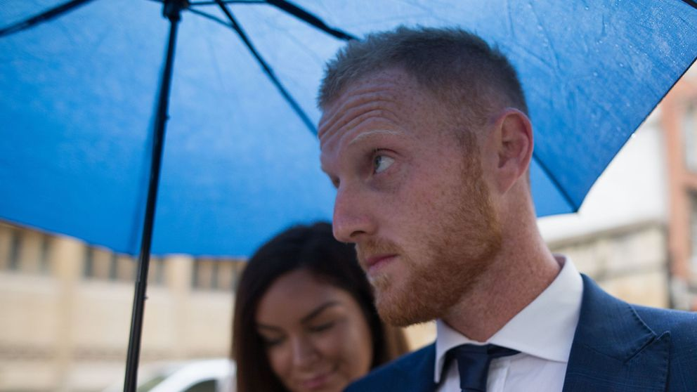 Ben Stokes arrives at court for day five of his affray trial