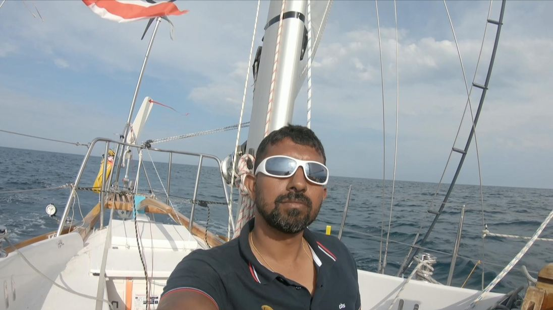 Indian sailor Abhilash Tomy rescued at sea after injury