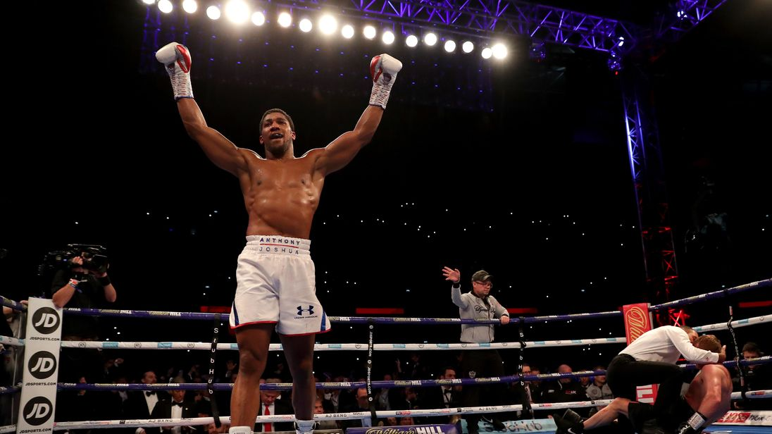 anthony joshua retains heavyweight titles with win over alexander