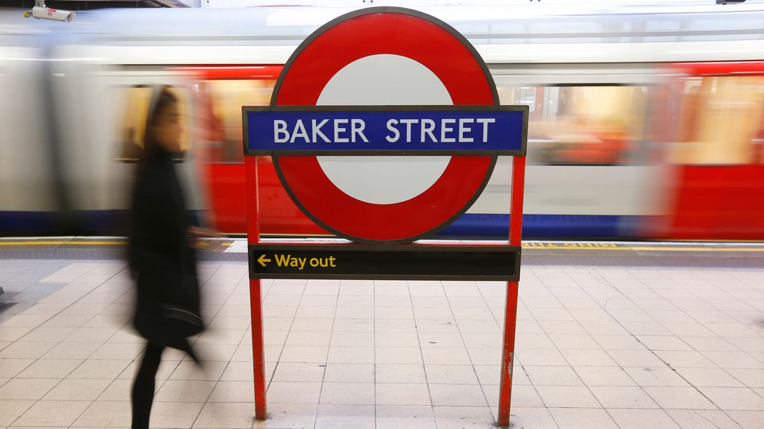 Baker Street: Mum and child survive after falling on tracks