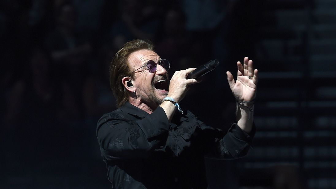 U2 In Concert - Nashville, Tennessee