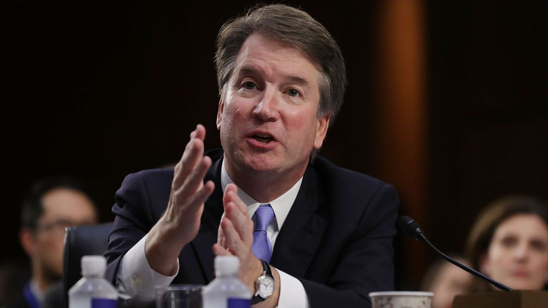 Brett Kavanaugh has said he is happy to appear before a Senate panel hearing