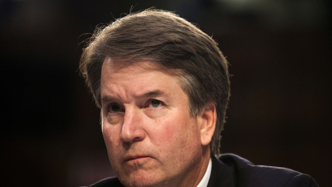 Brett Kavanaugh accuser speaks about alleged sexual misconduct